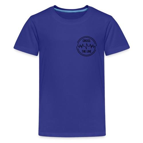 CROSS THE LINE - T-shirt Premium Ado