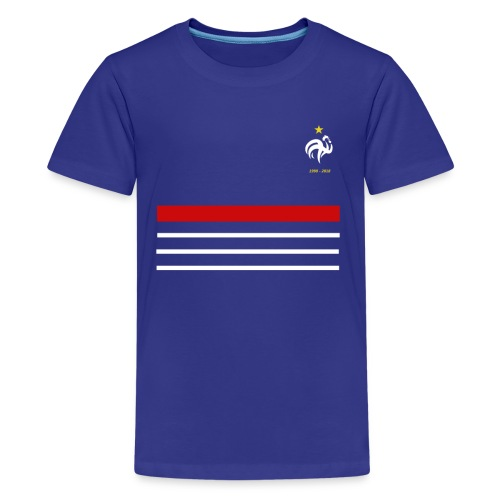 Maillot France 98 - 2018 Equipe de France - T-shirt Premium Ado