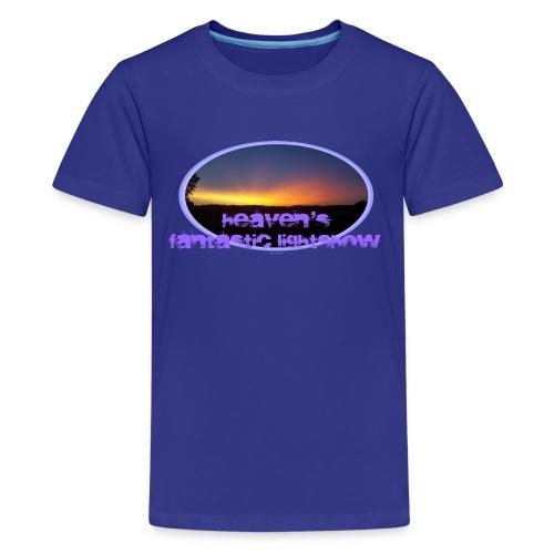 fantastic lightshow - Teenager Premium T-Shirt