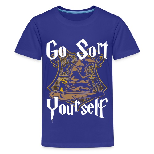 Go Sort Yourself - Teenage Premium T-Shirt