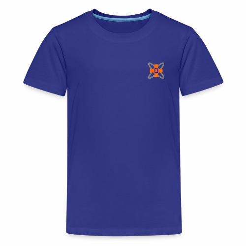 Drawyah Logo (Small/Emblem) - Teenage Premium T-Shirt