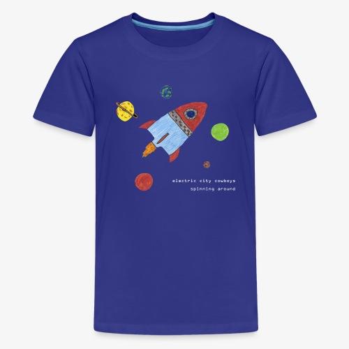 spaceship - Premium-T-shirt tonåring