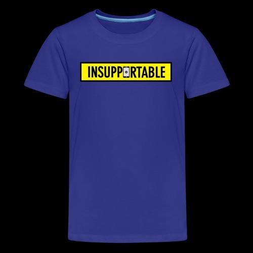 Stop aux portables ! - T-shirt Premium Ado