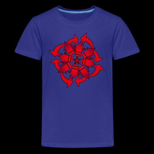 Chaos sphere - Teenage Premium T-Shirt