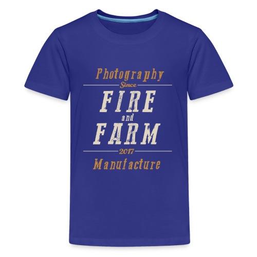 Fire and Farm - der Ausreißer - Teenager Premium T-Shirt