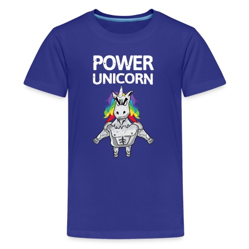 Power Unicorn - Einhorn Shirt - Teenager Premium T-Shirt