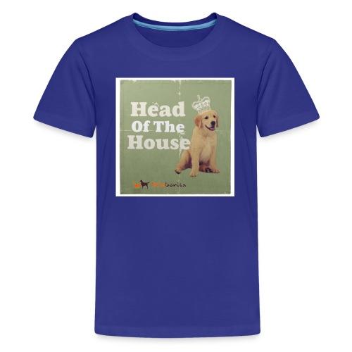King Golden Retriever Puppy - Maglietta Premium per ragazzi