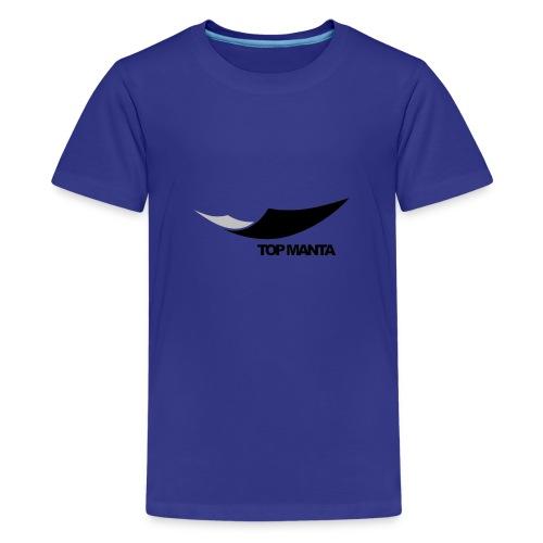 top - Camiseta premium adolescente