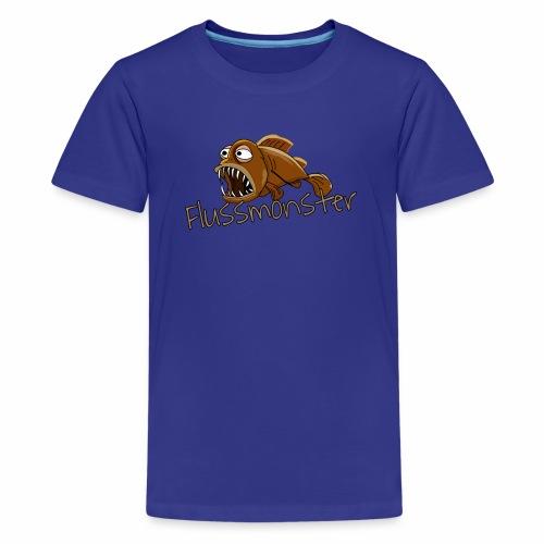 Flussmonster - Teenager Premium T-Shirt