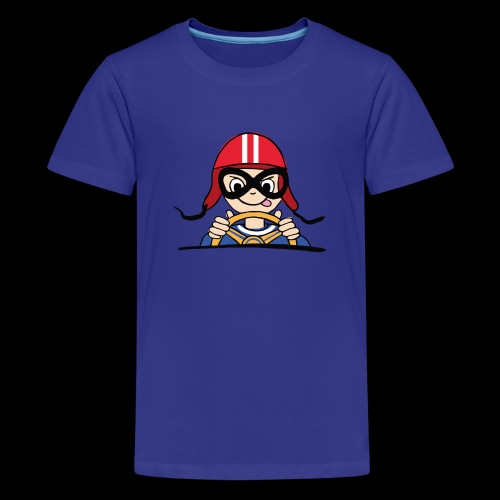 Rennfahrer - Teenager Premium T-Shirt