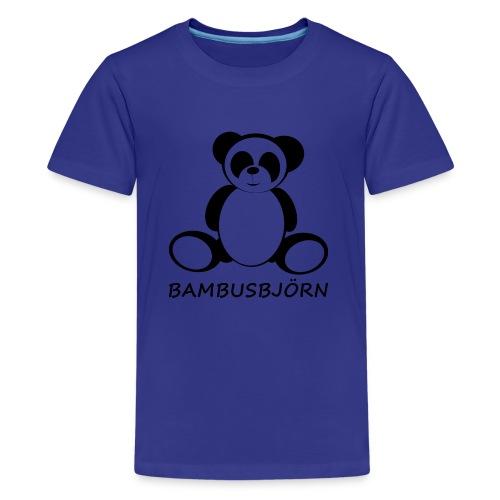 Bambusbjörn - Teenager Premium T-Shirt