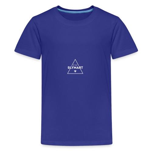 Slymart blanc - T-shirt Premium Ado