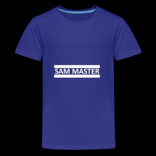 SamMaster - Teenager Premium T-Shirt