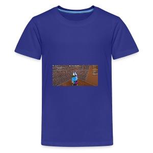 panda time - Teenage Premium T-Shirt