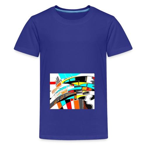 spacecity 18 W - T-shirt Premium Ado