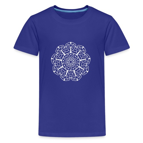 Mandala 04 - Teenager Premium T-Shirt