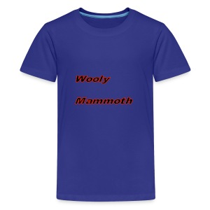 Wooly Mammoth - Teenage Premium T-Shirt