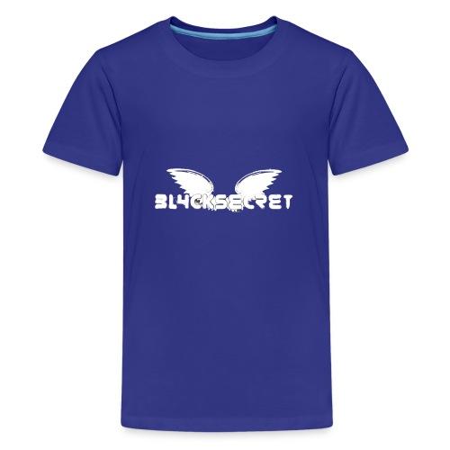 Bl4ckSecret neue Kollektion - Teenager Premium T-Shirt