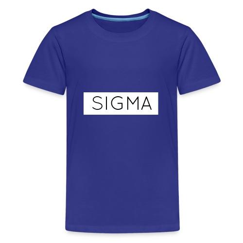 SIGMA - Teenage Premium T-Shirt
