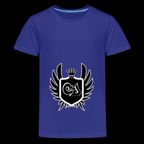 Crankjones Logo - Teenager Premium T-Shirt