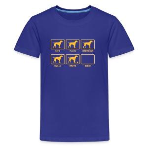 Für alle Hundebesitzer mit Humor - Teenager Premium T-Shirt