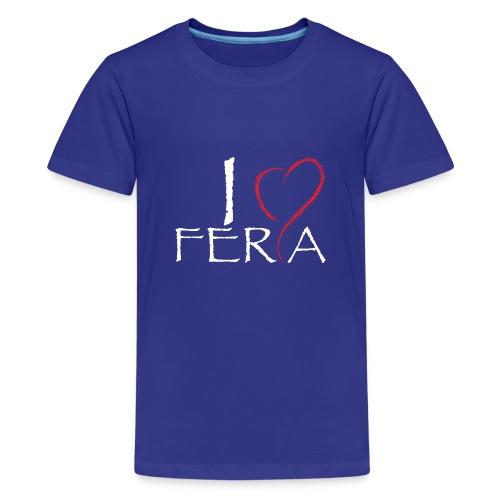 I Love Feria de Málaga 2018 - Camiseta premium adolescente