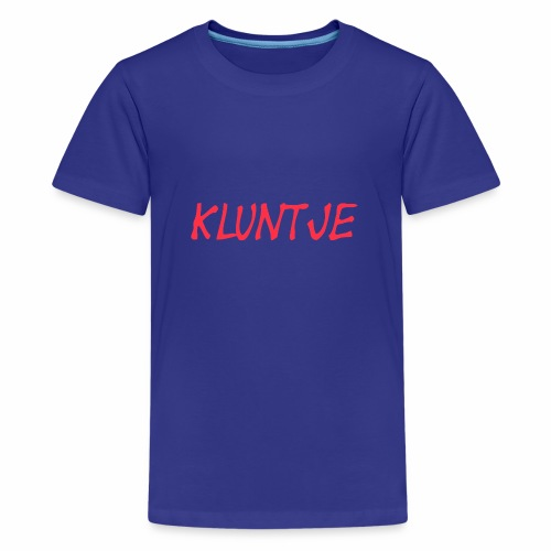 KLUNTJE - Teenager Premium T-Shirt