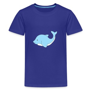 The Little Dolphin - Teenage Premium T-Shirt