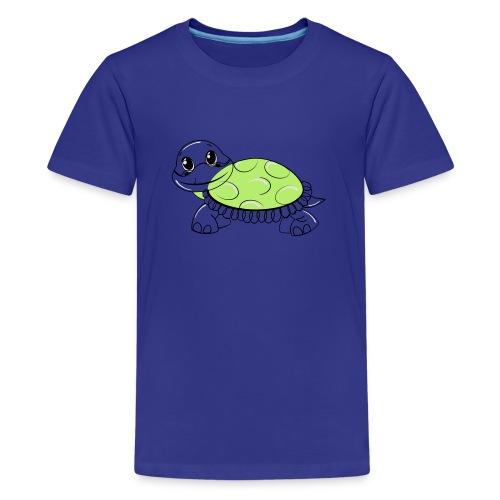 Schildkröte - Teenager Premium T-Shirt