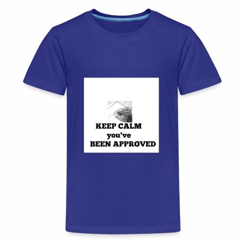 Logopit 1536755481285 - Teenage Premium T-Shirt