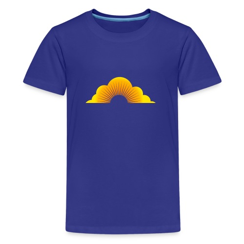 sunny cloud - Teenager Premium T-Shirt