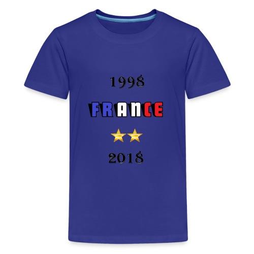 France 1998 2018 - T-shirt Premium Ado