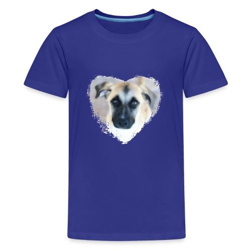 Ciqala - Ein Herz für Streuner - Teenager Premium T-Shirt