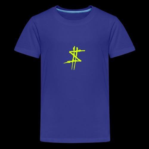 Dollarsign yellow - Premium-T-shirt tonåring
