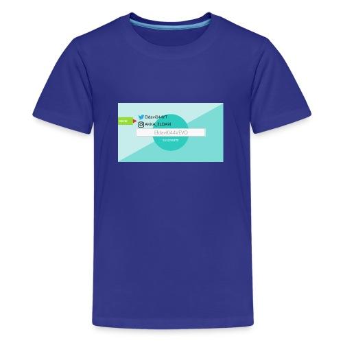ELDAVI044 - Camiseta premium adolescente