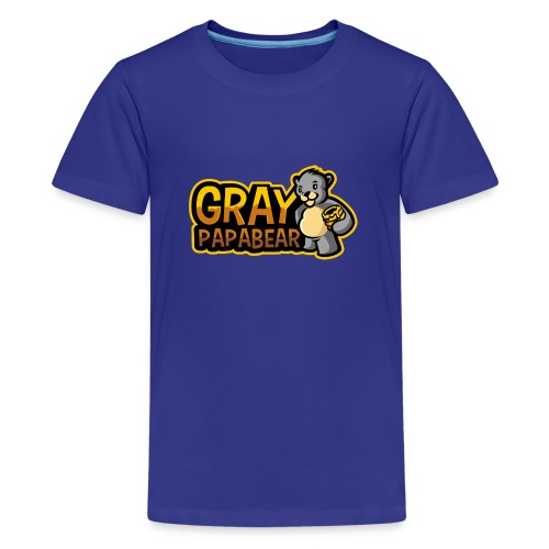 GrayPapaBear - Teenager Premium T-Shirt