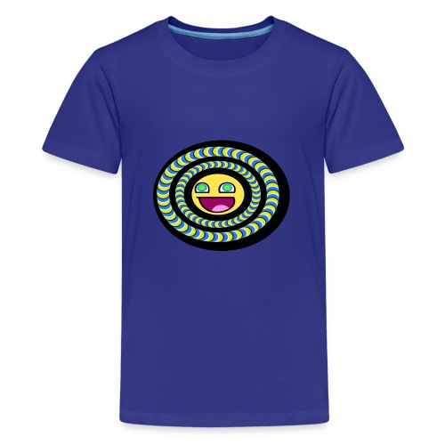 smiley psychédélique 01 - T-shirt Premium Ado