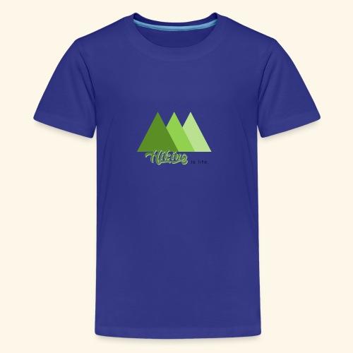 hiking - T-shirt Premium Ado