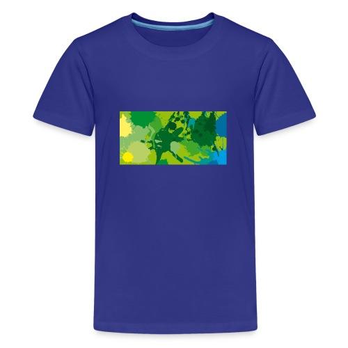 Verde - Camiseta premium adolescente