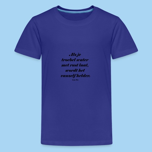 Troebel water - Teenager Premium T-shirt