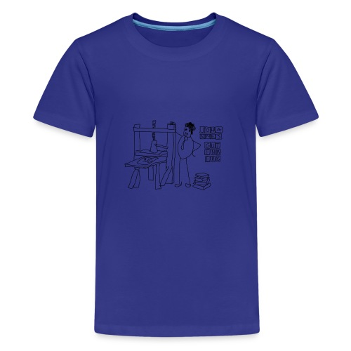 Gutenberg - Camiseta premium adolescente