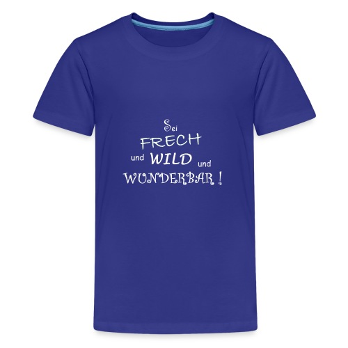 Kindermode - Teenager Premium T-Shirt