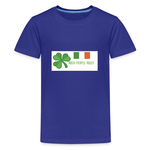 Exclusive St. Patrick's Day Clothes For Kids - Teenage Premium T-Shirt