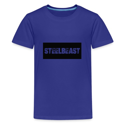 Til kl r - Premium T-skjorte for tenåringer