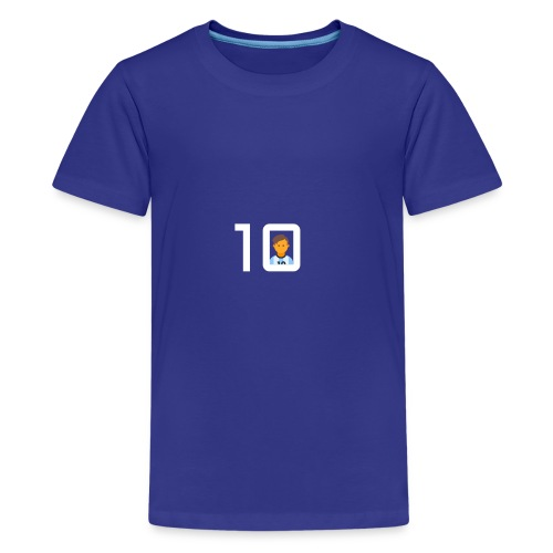 #10 - Premium-T-shirt tonåring