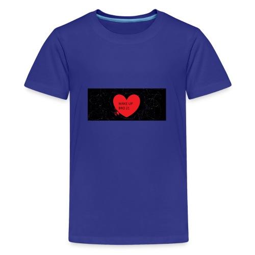 make up bro 2 - Teenager Premium T-Shirt