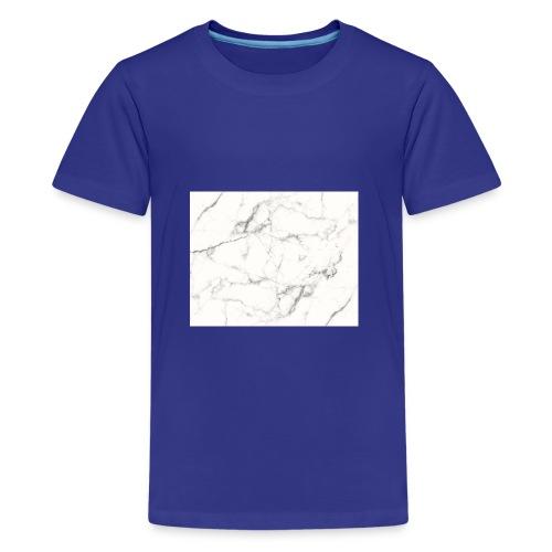 elkarma marmor hoodie - Teenager premium T-shirt
