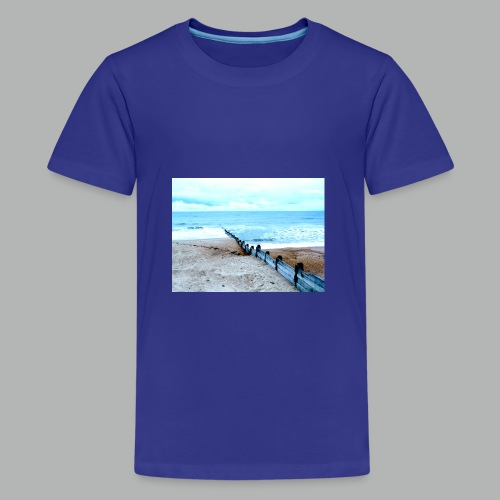 Sea view - Teenage Premium T-Shirt