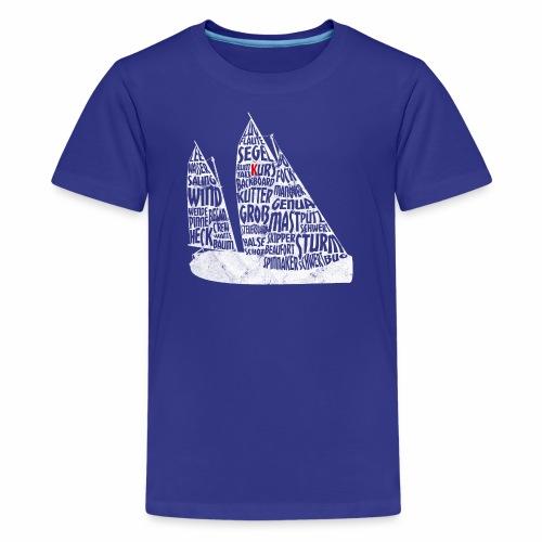 Wordart Kutter ZK10 Vintage - Teenager Premium T-Shirt