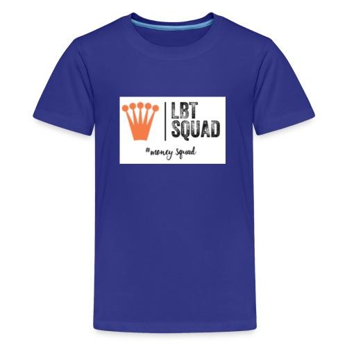 #Money Squad - Teenage Premium T-Shirt